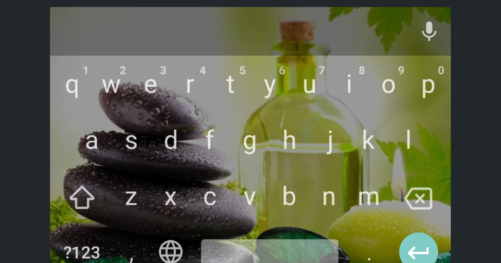 Android choix luminosité Gboard