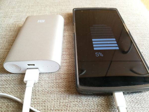 Recharge d'un oneplus One