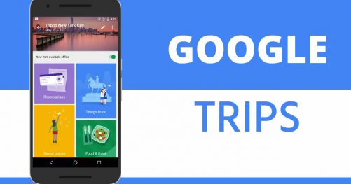 L'application Google Trips