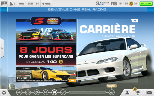 Un jeu comme Real Racing ne tournera pas au maximum sur la Fire HD 8.