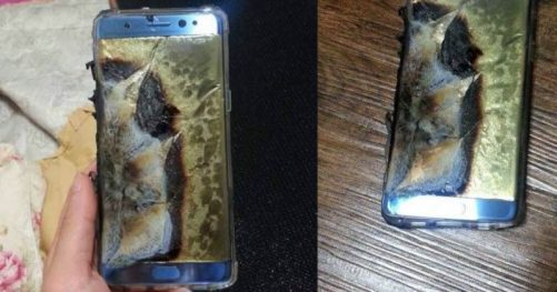 Les explosions du Samsung Galaxy Note 7