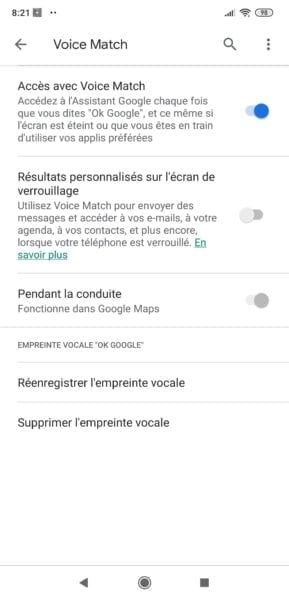 Voice Match Assistant