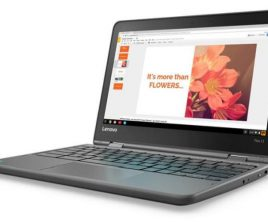 Flex 11 : Lenovo dévoile son Chromebook convertible