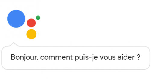 Message de Google Assistant