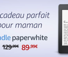[Expiré] 40€ de réduction sur la liseuse Amazon Kindle Paperwhite
