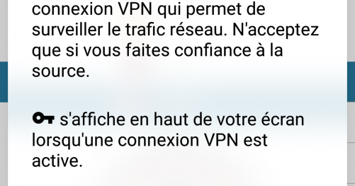 Application Le VPN