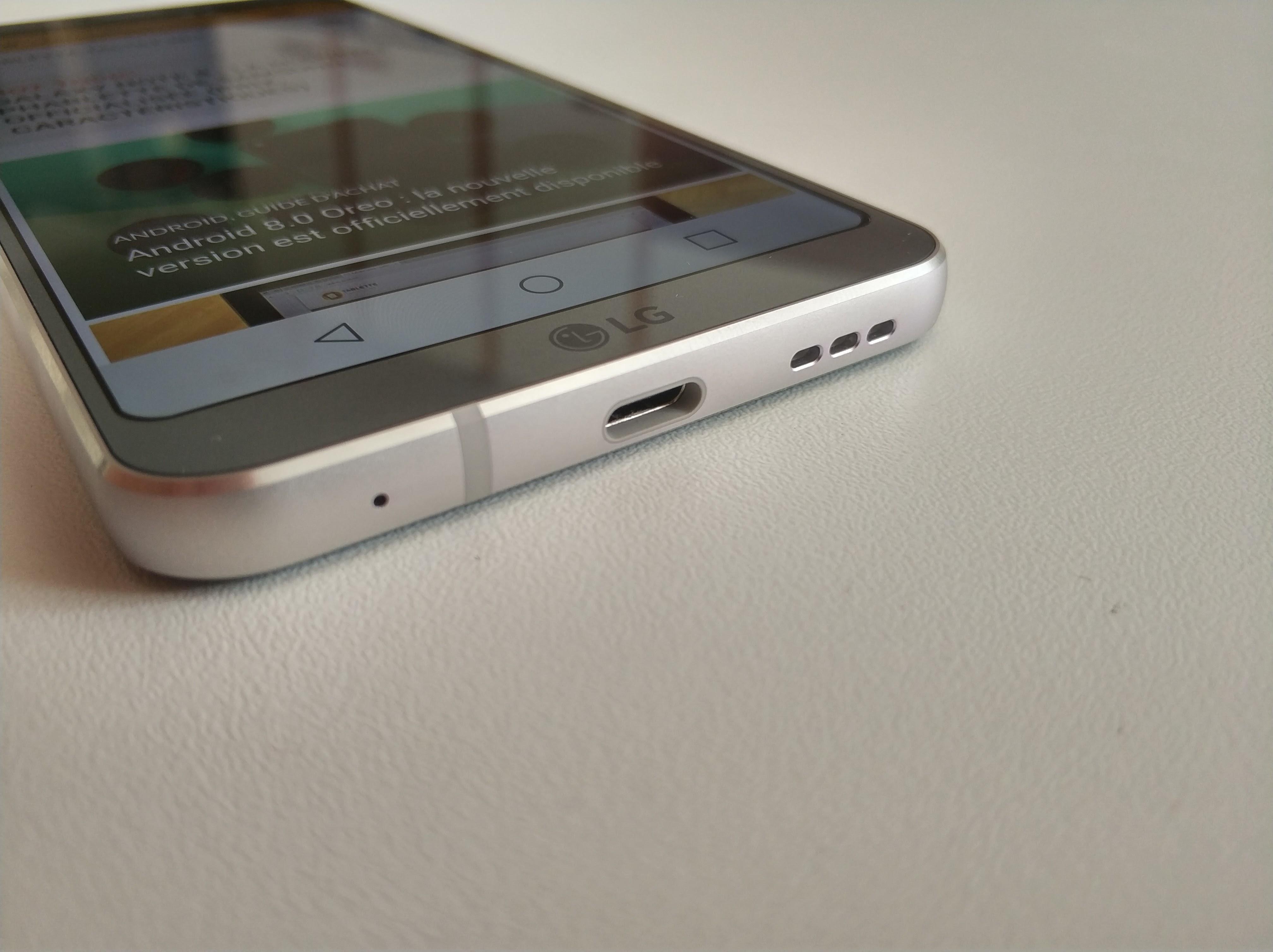 Connectique LG G6