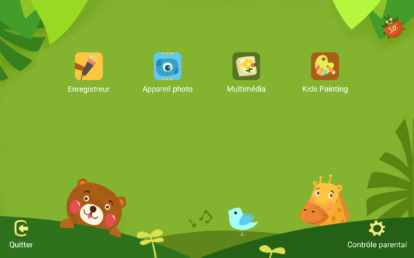 Application enfant tablette Huawei