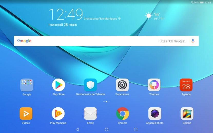 Interface EMUI 8.0