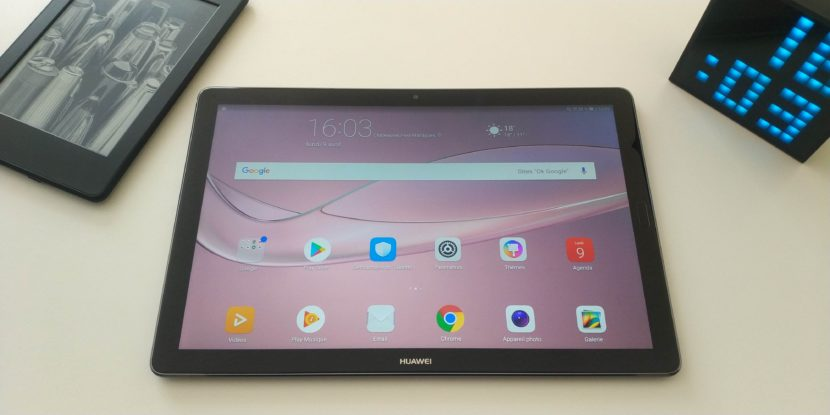 Test tablette MediaPad M5