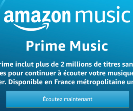 Amazon Prime Music : un service de streaming musical dédié aux membres Prime