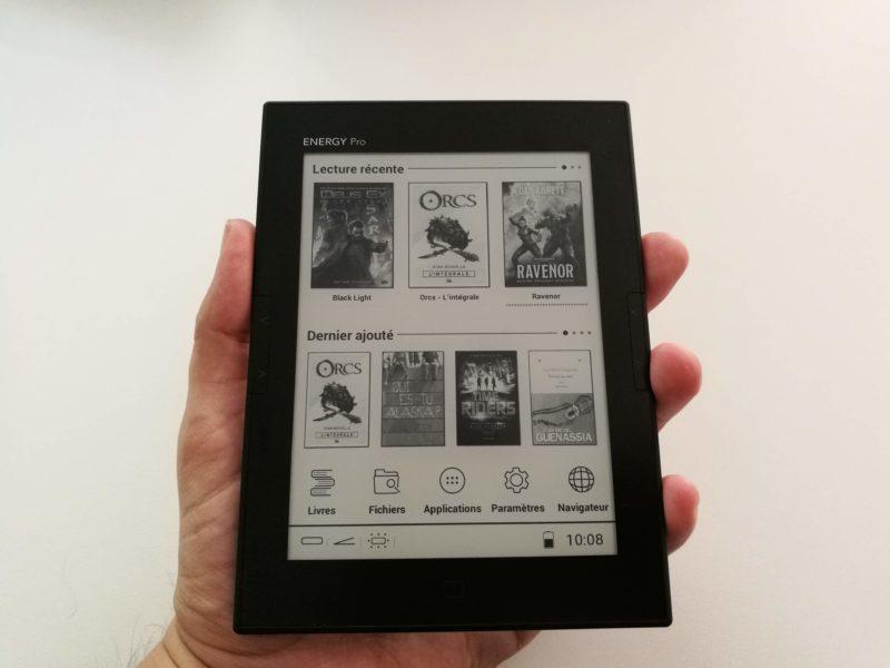 Prise en main liseuse eReader Pro HD
