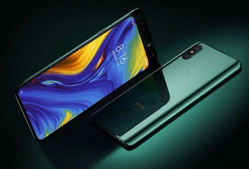 Officialisation Xiaomi Mi Mix 3