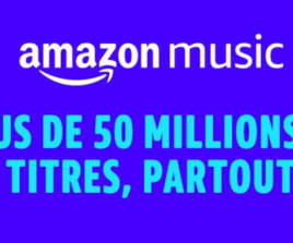 Amazon Music Unlimited à 0.99€/mois pendant 4 mois (puis 9.99€/mois)