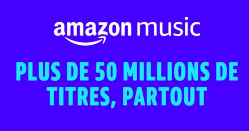 Bon plan Amazon Music