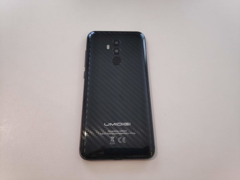 Coque carbone Umi Z2 Special Edition
