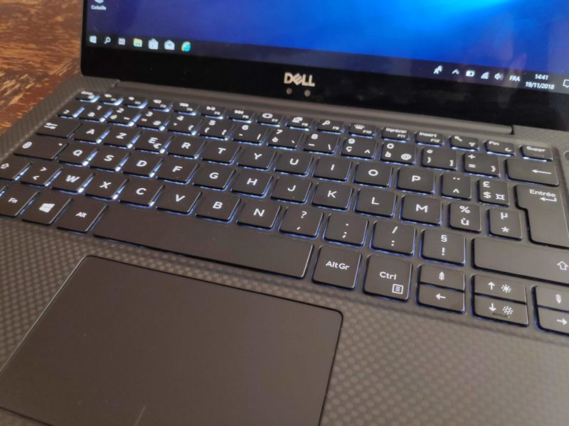 Clavier Dell XPS 13