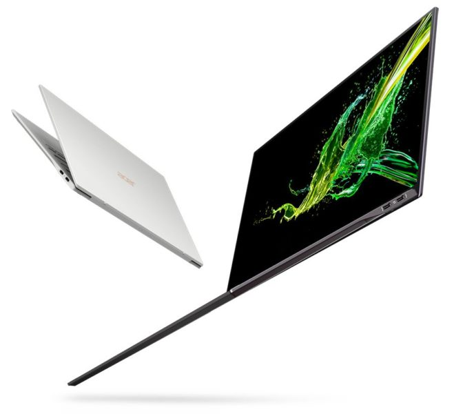 Acer Swift 7 ultraportable 2019