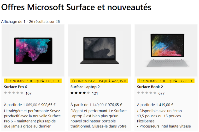 Promo 40% Surface Microsoft