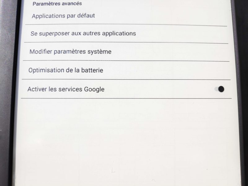 Likebook Mars procédure activation Google Play Store