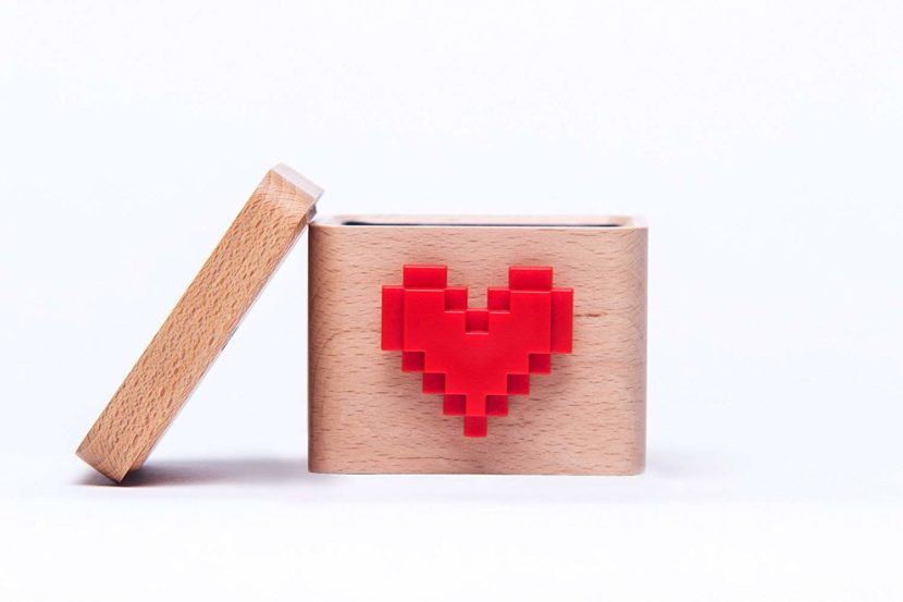 Lovebox Pixel Saint-Valentin