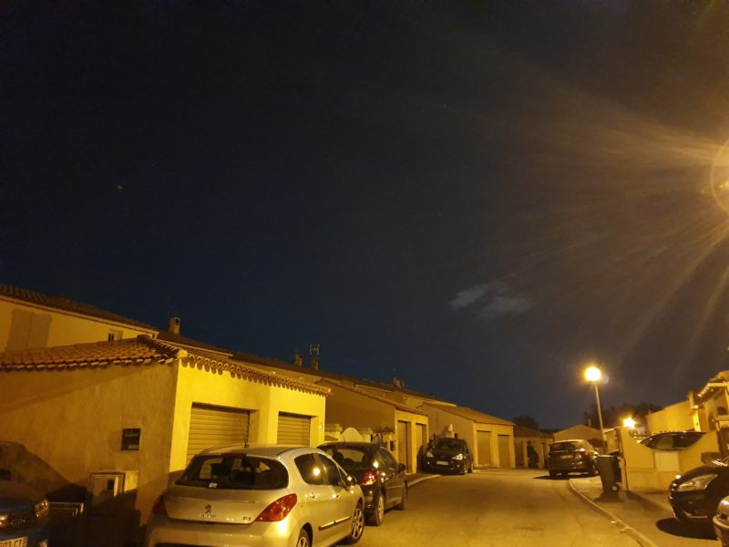 Photo nuit Galaxy S10