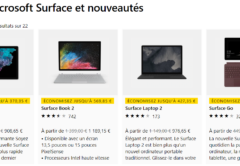 Bon plan Surface Microsoft