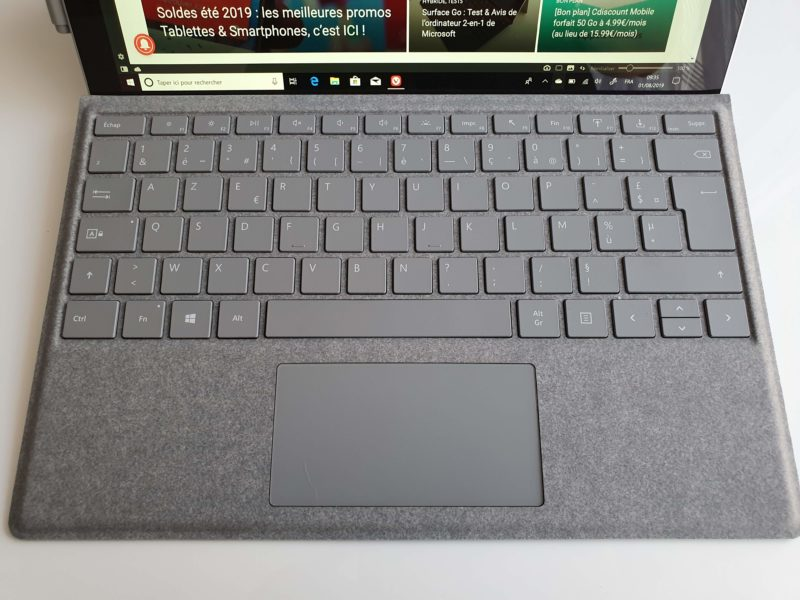 Clavier Type Cover Surface Pro 6