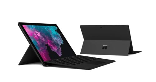 Surface Pro 6 packs promo
