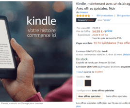 "Kindle à 54.99€ & iPad 10.2"" à 385€ + 16 bons plans en cours avant le Black Friday"