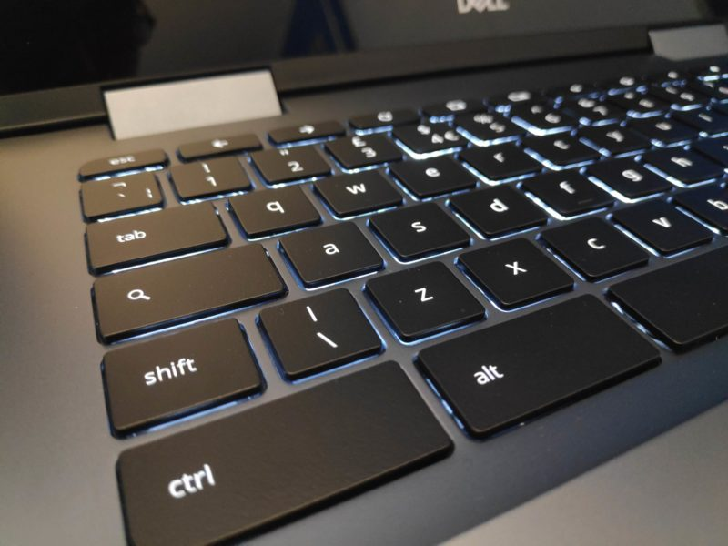 Touches clavier Dell Chrome OS