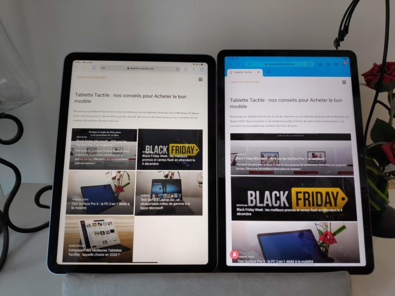 iPad Air vs Tab S7