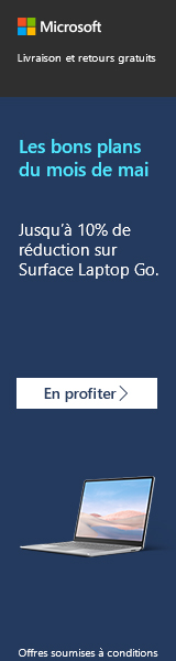 Surface Laptop Go en promotion